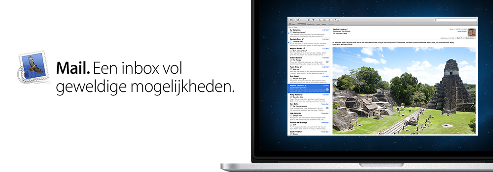 Tips & Tricks OS X: Mail versturen mislukt.