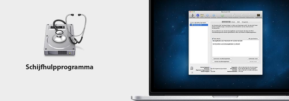 Tips & Tricks OS X: Trage Mac? Schijfbevoegdheden herstellen!