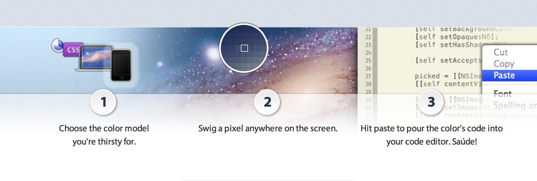 Review OS X: De kleurenmeter voor OS X