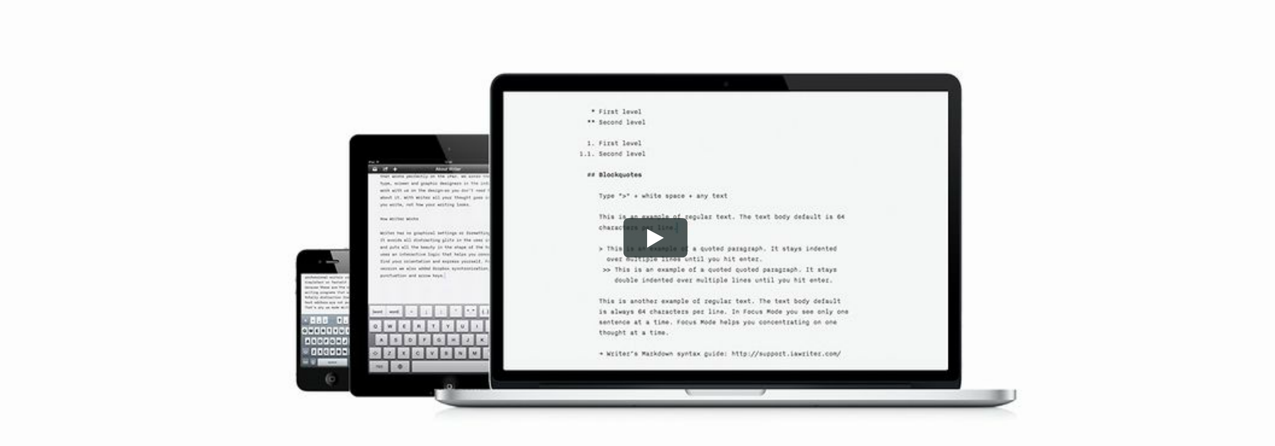 Review OS X: iA Writer